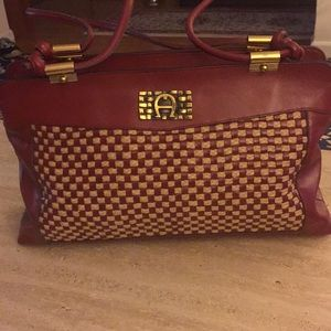Hand made Etienne Aigner  Bag